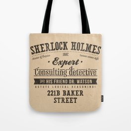 Sherlock Holmes -Consulting Detective- Tote Bag