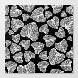 Black White Pattern Canvas Print
