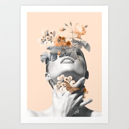 Inner beauty 4 Art Print