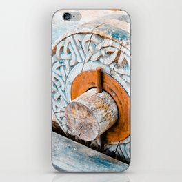 Celtic Trebuchet Wheel iPhone Skin