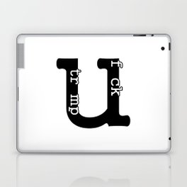 Fuck Trump Laptop & iPad Skin