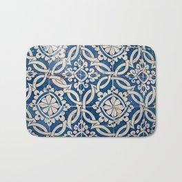 Vintage portuguese azulejo Bath Mat
