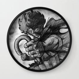 UMBRELLA FIGHTER Wall Clock
