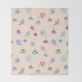 Tea Time Throw Blanket
