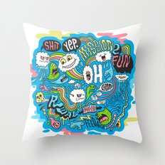 2Fun Throw Pillow