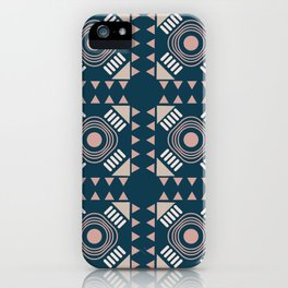 Eli Blue Teracotta iPhone Case