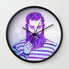 Sea Wolf Ghost Wall Clock
