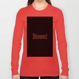 BLESSED Black & White Long Sleeve T-shirt