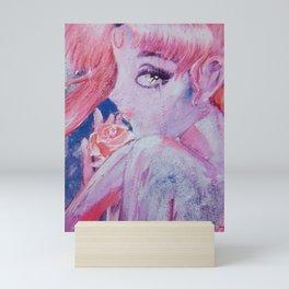 Sailormoon pink fanart Mini Art Print