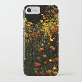 Beautiful garden flowers iPhone Case