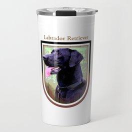 Black Labrador Retriever Travel Mug