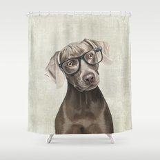 Mr Weimaraner Shower Curtain