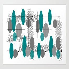 Orbs Always Float Art Print