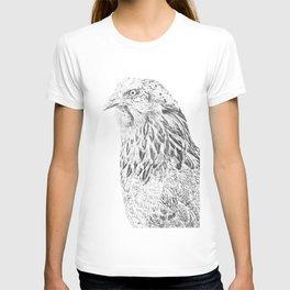 she's a beauty drawing T-shirt