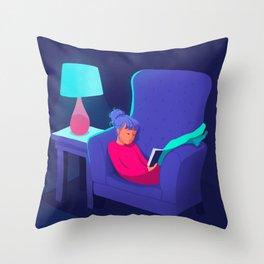 Sunday Evening Throw Pillow