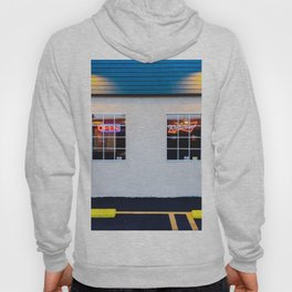 windows of the bar and restaurant in Los Angeles, USA Hoody
