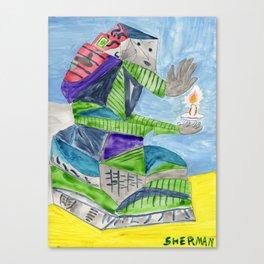 Study for Las Meninas Canvas Print