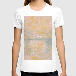 "Claude Monet ""Charing-Cross Bridge in London"" (1902) T-shirt"