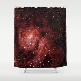 Lagoon Nebula Shower Curtain