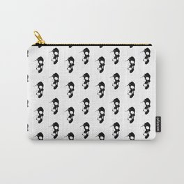 Skull - Black Carry-All Pouch