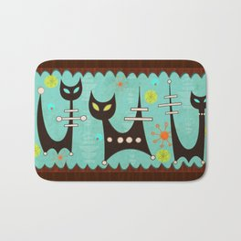 Atomic Cats Bath Mat
