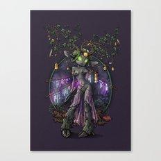 Kissiaen Priestess Canvas Print