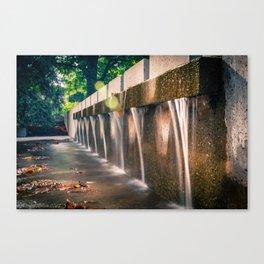 Small Waterfall Canvas Print