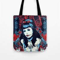 lolita Tote Bags featuring Lolita by Tshirt-Factory