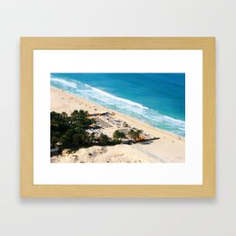 Dubai - Jumeirah Beach Framed Art Print