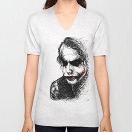 Joker Unisex V-Neck