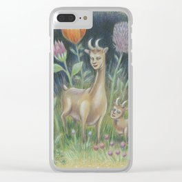 How to Glow in the Dark III:  Very Deer Clear iPhone Case