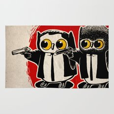Owls Pulp Fiction Rug