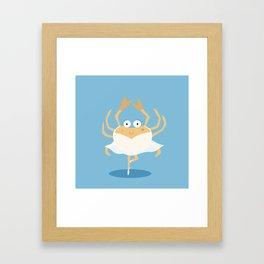 Sea dancer Framed Art Print