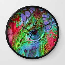 Physic Eye Wall Clock