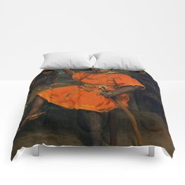 "Gustave Courbet ""Louis Gueymard (1822–1880) as Robert le Diable"" Comforters"