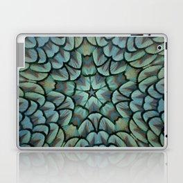 Classic Peacock Feather Kaleidoscope  Laptop & iPad Skin