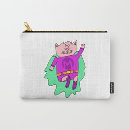 Super-Meow Carry-All Pouch