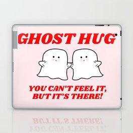 ghost hug Laptop & iPad Skin