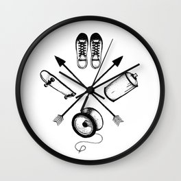 Your Street Wall Clock
