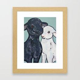 Mollie and Olive Framed Art Print