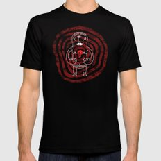 The Lonely Cyclops of Skull Isle MEDIUM Black Mens Fitted Tee