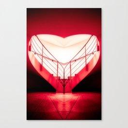 architecture's valentine Canvas Print