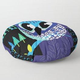 Night owl Floor Pillow