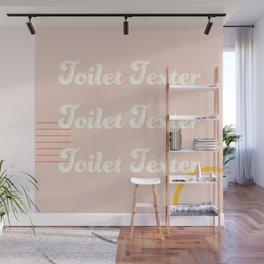 Toilet Texter Wall Mural