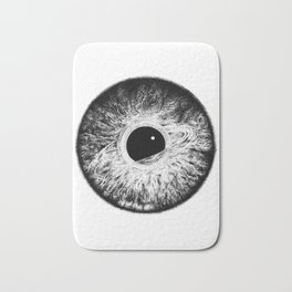 Life in your eyes Bath Mat
