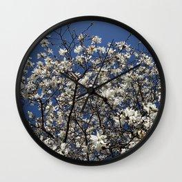 Lewes trees Wall Clock