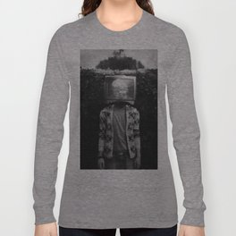 This TV haze sucks me through. I watch the world from the inside Long Sleeve T-shirt