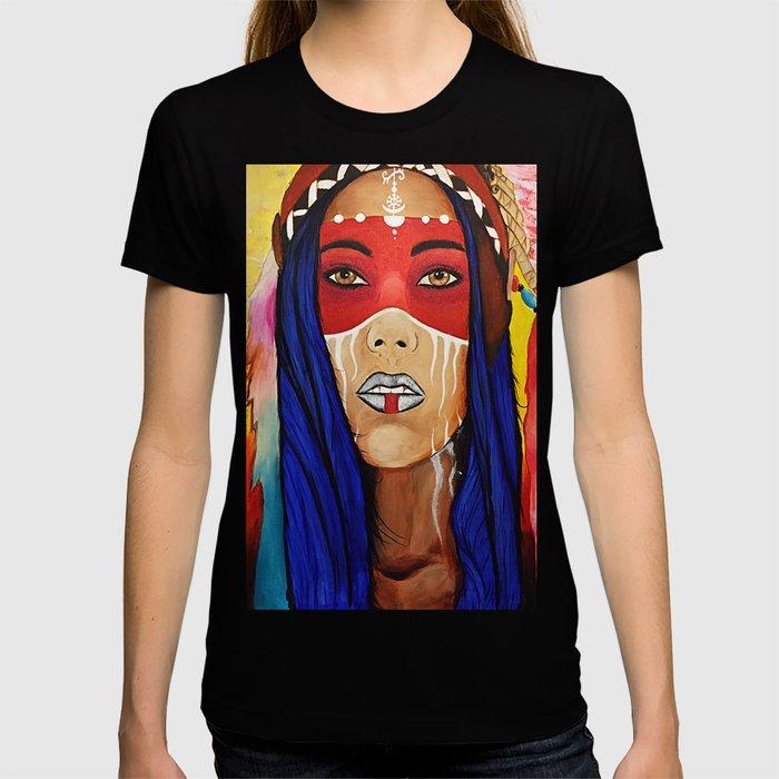Tribal Lady T-shirt