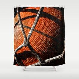 Basketball artwork vx cx 5 Shower Curtain