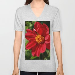 Red Is Beautiful Unisex V-Neck